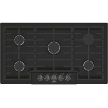 800 Series Gas Cooktop 36'' Black