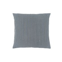 "PILLOW - 18""X 18"" / LIGHT / DARK BLUE ABSTRACT DOT / 1PC"