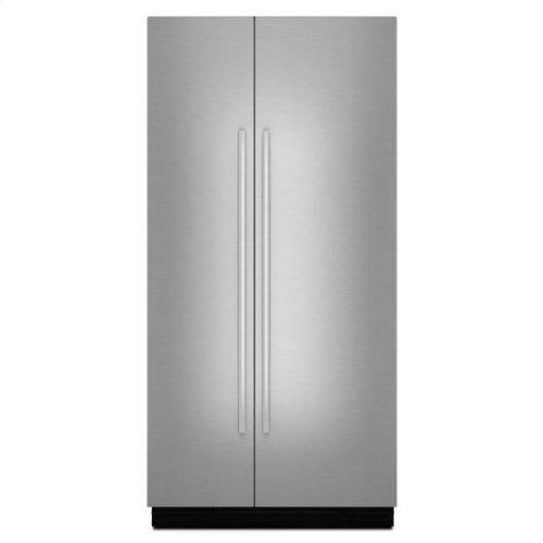 "Jenn-Air® Panel Kit (Euro-Style Stainless) (42"" SxS BIR) - Stainless Steel"