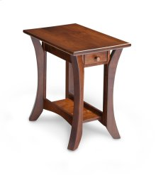 Park Avenue 1-Drawer Open Chair Side Table
