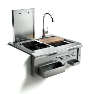 XO APPLIANCE30in Cocktail Pro Station with Sink