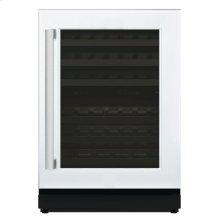 24 3/16'' Glass Door Wine Reserve Right Hinge Custom Panel Ready T24UW800RP