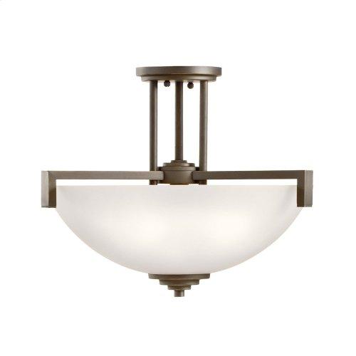 Eileen 3 Light Convertible Pendant Olde Bronze®