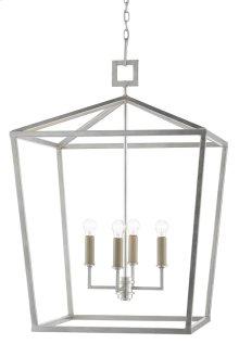 Denison Silver Large Lantern