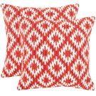 Midnight Desert Pillow - Red Product Image