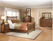 California King Panel Bed, Universal Rail