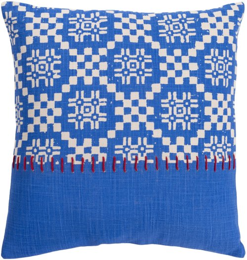 """Delray DEA-004 20"""" x 20"""" Pillow Shell with Polyester Insert"""
