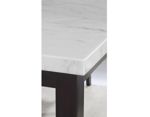 "Francis White Marble Table Top 70"" x42"" x 55mm"