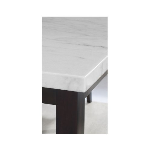 Francis White Marble Table Top 70 X42