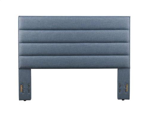 Delton Platform Bed - King, Blue