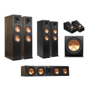 KlipschRP-280 5.1.4 Dolby Atmos(R) System - Walnut