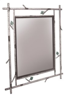 Whisper Creek Iron Wall Mirror