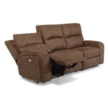 Rhapsody Fabric Power Reclining Sofa with Power Headrests