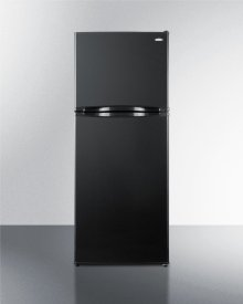 "9.8 CU.FT. Frost-free Refrigerator-freezer In 24"" Width and Black Finish\n"
