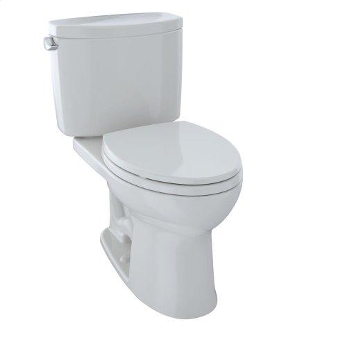 Drake® II Two-Piece Toilet, 1.28 GPF, Elongated Bowl - Colonial White
