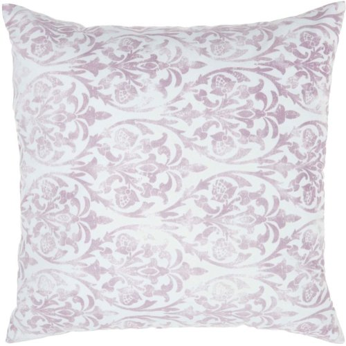 """Life Styles Qy551 Lavender 20"""" X 20"""" Throw Pillows"""