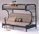 Banner Twin over Full Futon Metal Bunk Bed Product Image