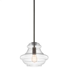 Everly Collection Everly 1 Light Old Bronze (42044OZ) 1 Light Pendan