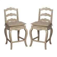 FRENCH PROVENCAL COUNTER STOOL