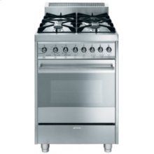 Free-Standing Gas Range, 24 , Stainless Steel