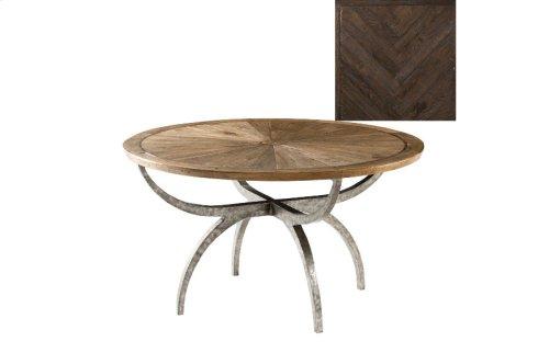 Lagan II Dining Table, Dark Echo Oak