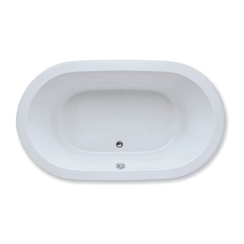 "Easy-Clean High Gloss Acrylic Surface, Oval, Whirlpool Bathtub, Signature Package, 36"" X 66"""