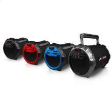 """SPBT1034 Bluetooth Media Speaker with 6"""" Subwoofer and Wired Mic"""