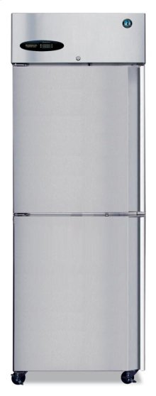 Freezer, Single Section Upright, Half Stainless Door
