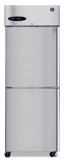 Freezer, Single Section Upright, Half Stainless Door