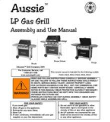 Bonza Owners Manual (Free Downloads)