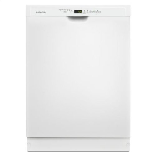 Amana® Tall Tub Dishwasher with Stainless Steel Interior - White