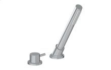 M.E. 25 Deck-Mounted Handshower & Diverter Set