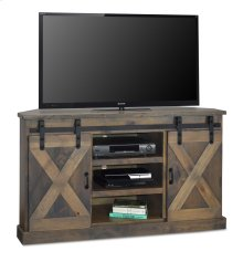 "Farmhouse 66"" Corner TV Console"
