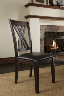 Double X Side Chair
