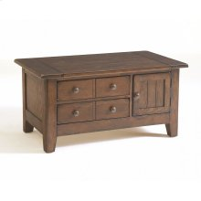 Attic Heirlooms Small Apothecary Coffee Table