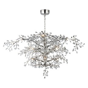 Cluster 12-Light LED Chandelier