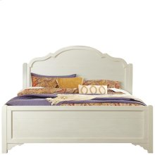 Grand Haven - Queen Panel Footboard - Feathered White Finish