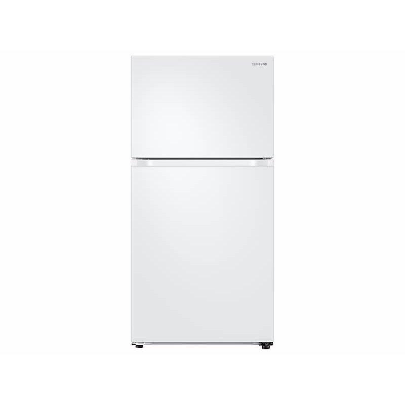 21 cu. ft. Top Freezer Refrigerator with FlexZone™ in White