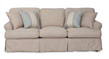 Sunset Trading Horizon Slipcovered Sofa - Color: 466082 - Sunset Trading