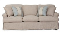 Sunset Trading Horizon Slipcovered Sofa - Color: 466082 - Sunset Trading
