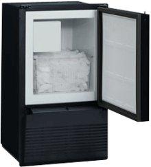 Black 110V, Field reversible Marine/RV Crescent Ice Maker