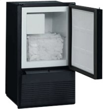 Black 110V, Field reversible Marine/RV Crescent Ice Maker