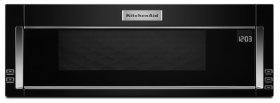 1000-Watt Low Profile Microwave Hood Combination - Black