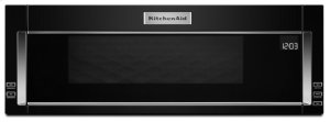 1000-Watt Low Profile Microwave Hood Combination - Black Product Image