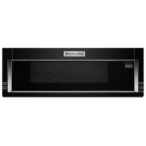 Kitchenaid1000-Watt Low Profile Microwave Hood Combination - Black