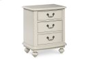 Inspirations by Wendy Bellissimo - Seashell White Nightstand Product Image