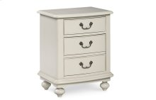 Inspirations by Wendy Bellissimo - Seashell White Nightstand