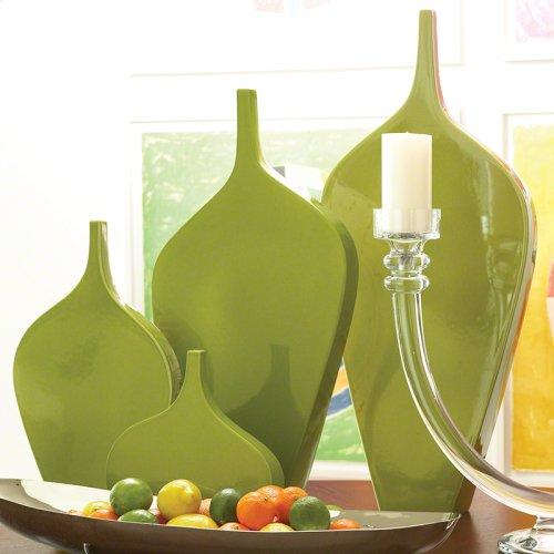 Guitar Vase-Green-Lg
