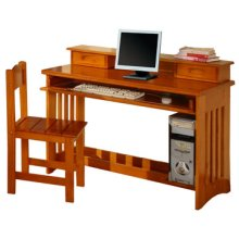 Honey Desk & Chair