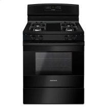 30-inch Amana® Gas Range with Bake Assist Temps - black